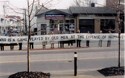 War is a game played by old men at the expense of humanity.