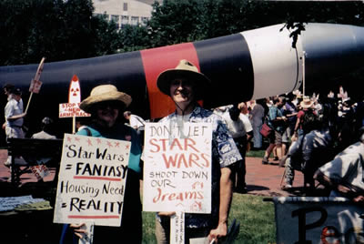 Star Wars Demonstration Protest